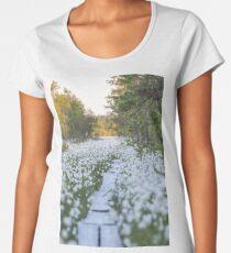 Marsh landscape Women's Premium T-Shirt