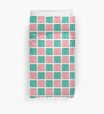 Pattern design with abstract elements Duvet Cover