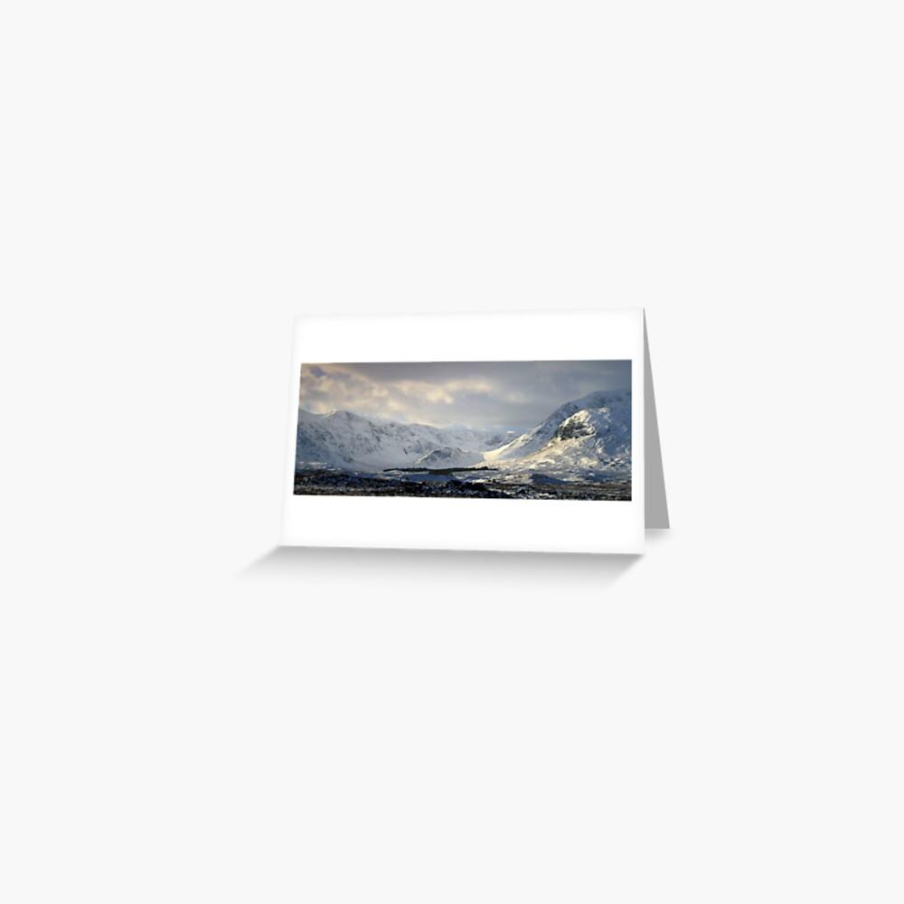 Blackmount  Rannoch Moor Greeting Card