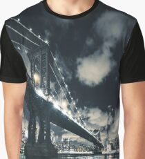 manahttan bridge in nyc Graphic T-Shirt