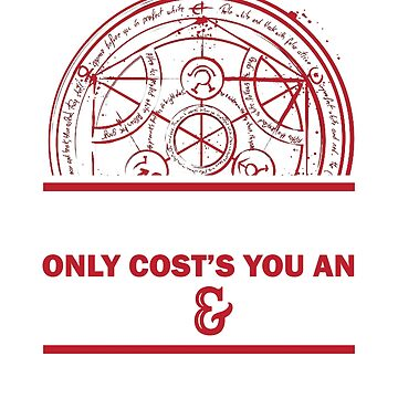 Full Metal Alchemist - Alchemy Only Costs You An Arm & Leg by Sublantis
