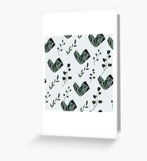 Pattern design with abstract elements Greeting Card