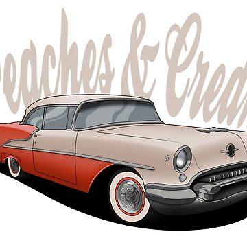 Oldsmobile Peaches & Cream by PixelRandom
