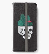 Cactus Skull iPhone Wallet/Case/Skin