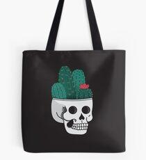 Cactus Skull Tote Bag