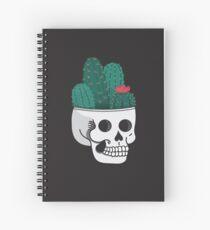Cactus Skull Spiral Notebook