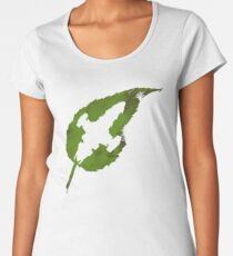 Leaf on the Wind Women's Premium T-Shirt