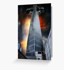 Corporate Religion Greeting Card