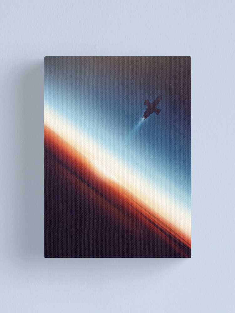 Alternate view of Into Space Canvas Print
