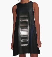 Glacial layers A-Line Dress