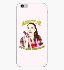 nancy jo, this is alexis neiers calling iPhone Case