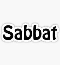 Sabbat Sticker