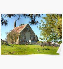 Churchyard Roos Poster