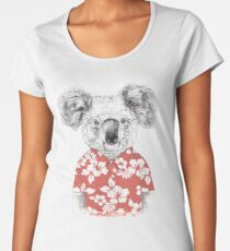 Summer koala Women's Premium T-Shirt