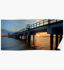 Woody Point Pier Poster