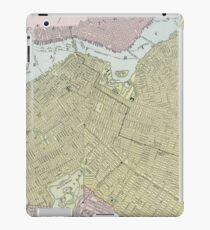 Vintage Map of Brooklyn NY (1889) iPad Case/Skin