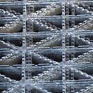 Streetscape Abstract - the Grating - 1 by psphotogallery