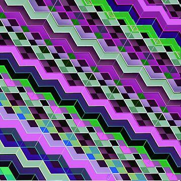 3d Zigzag patterns by LudaNayvelt