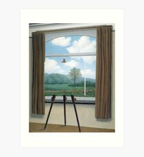 The Human Condition(La condition humaine)-René Magritte Art Print