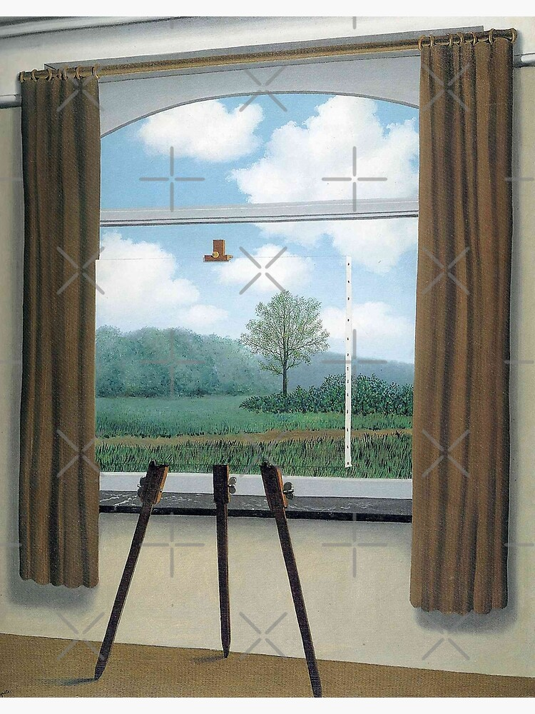 The Human Condition(La condition humaine)-René Magritte by LexBauer