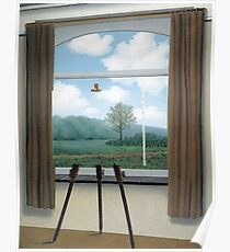 The Human Condition(La condition humaine)-René Magritte Poster