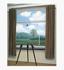 The Human Condition(La condition humaine)-René Magritte Photographic Print