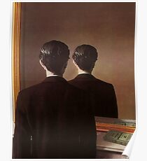 Not to Be Reproduced(La reproduction interdite)-René Magritte Poster
