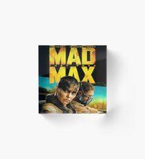 Mad Max Fury Road Acrylic Block