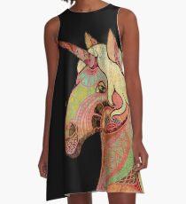 the unicorn A-Linien Kleid