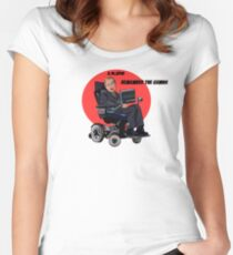 Remember the Genius Stephen Hawking Women's Fitted Scoop T-Shirt