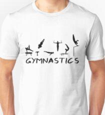 Gymnastics man Unisex T-Shirt
