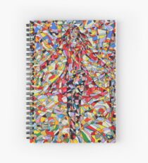 Scarlet Witch Spiral Notebook