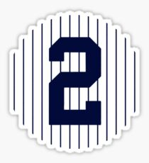 Derek Jeter #2 Sticker