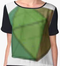 Icosahedron Chiffon Top