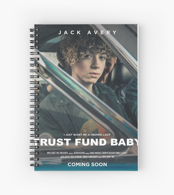 Jack Avery Tfb Spiral Notebooks By Gsmitty500 Redbubble