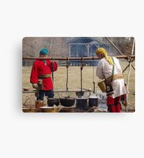 Olde Tyme Sugaring Canvas Print