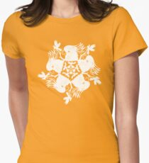 Yellow-Crested Cockatoo Women's Fitted T-Shirt