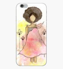 Splotch Girl - Freedom iPhone Case