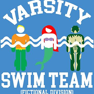 Varsity Swim Club (Fictional Division) by clockworkmonkey