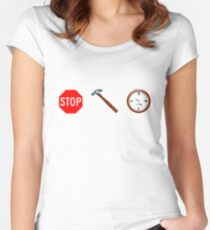 Stop! hammertime Women's Fitted Scoop T-Shirt