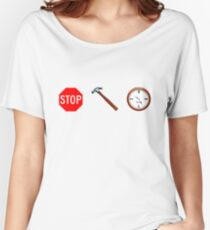 Stop! hammertime Women's Relaxed Fit T-Shirt