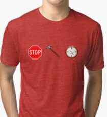 Stop! hammertime Tri-blend T-Shirt