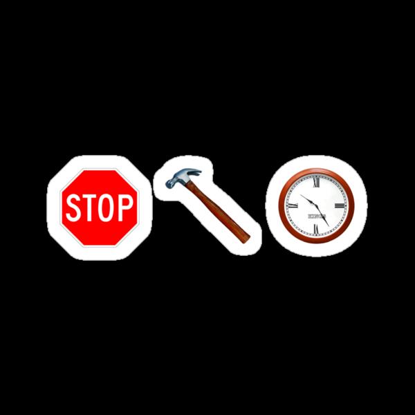 Stop! hammertime by Gavin King