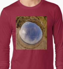 Lisfannon Beach, Fahan, County Donegal - Sky In Long Sleeve T-Shirt