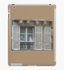 OLD WOODEN SHUTTERS iPad Case/Skin