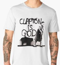 Clapton T-shirt | Clapton is God Men's Premium T-Shirt