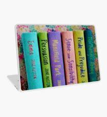 Jane Austen Library Laptop Skin