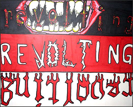 Revolting by cardiocentric