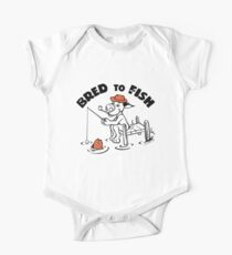 Bred To Fish One Piece - Short Sleeve