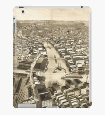 Vintage Pictorial Map of Milwaukee WI (1879) iPad Case/Skin